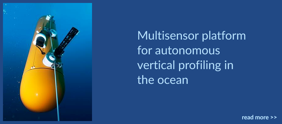 Multisensor platform for autonomous vertical profiling in the ocean