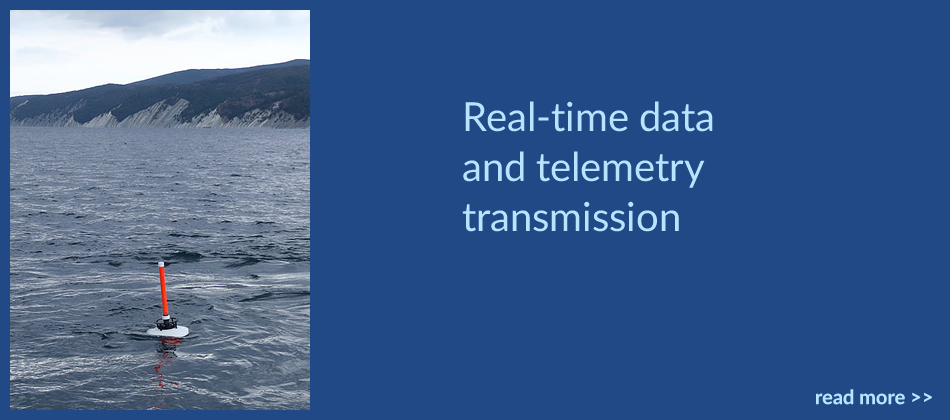 Real-time data and telemetry transmission